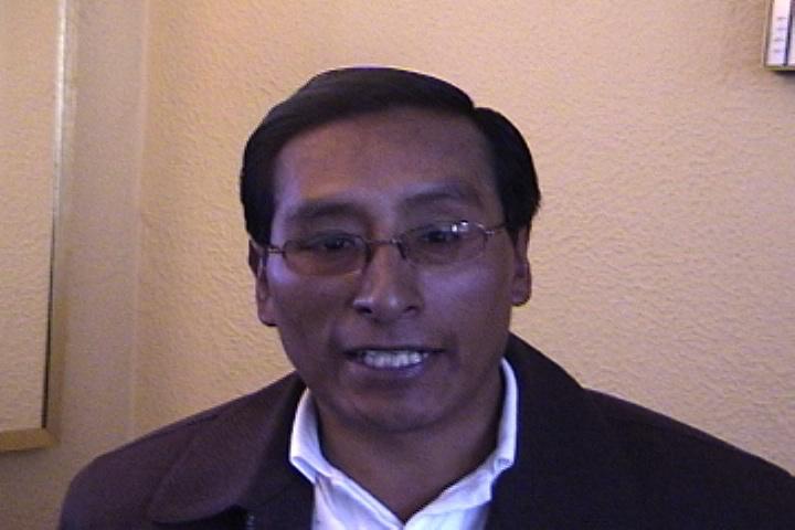 Roberto Quispe Alanoca: Aymara monologue